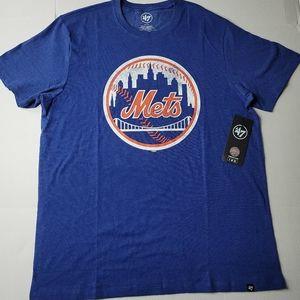 '47 BRAND NEW YORK METS MLB BASEBALL TEE T SHIRT
